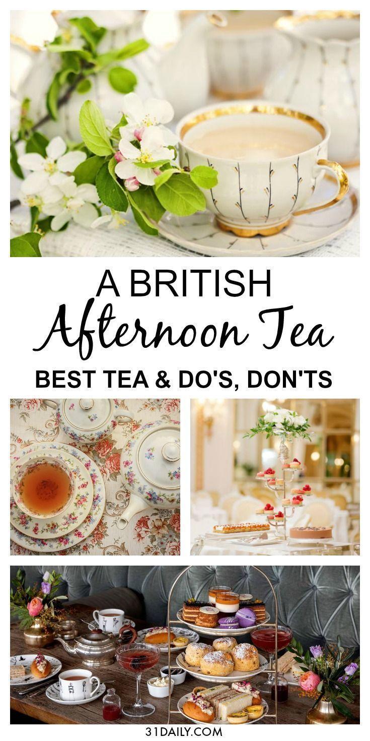 Taking Afternoon Tea Like the British