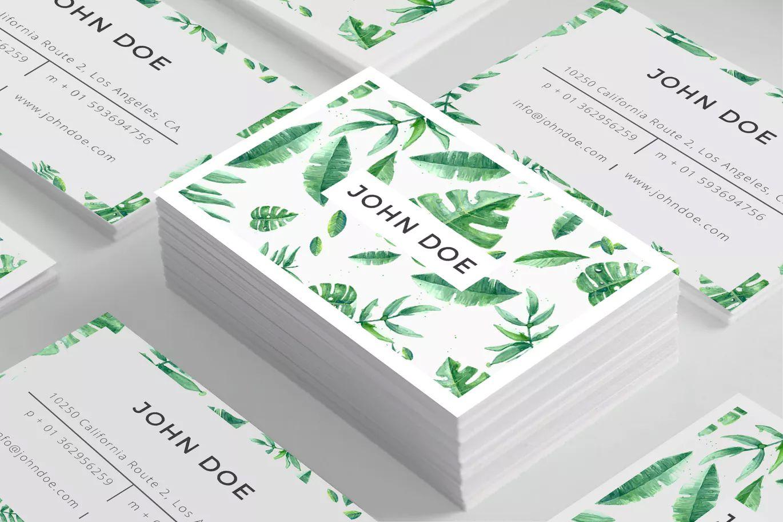 Cartes De Visite Photographie Culinaire Business Card Template PSD