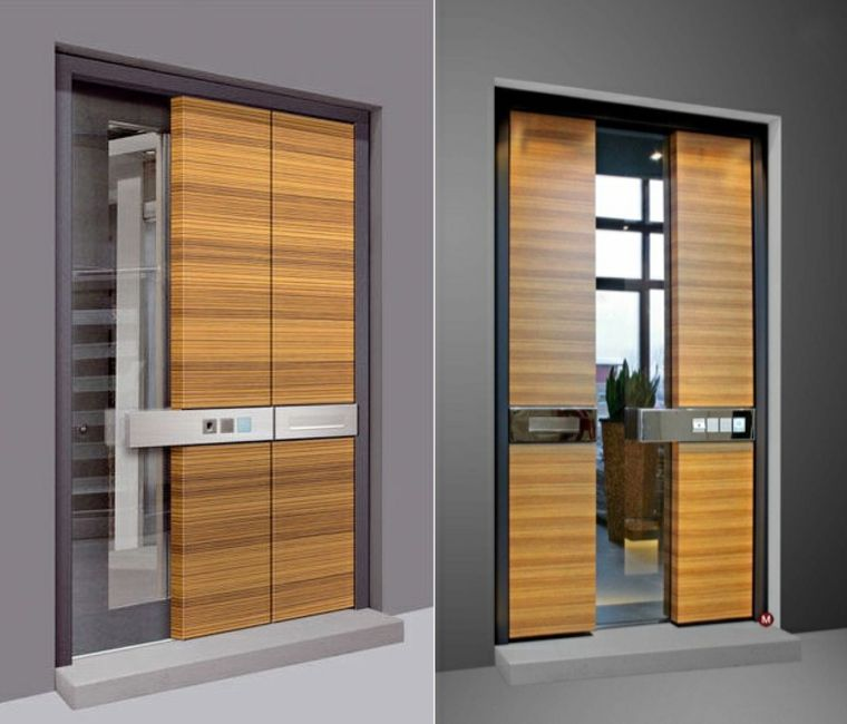 puertas de entrada modernas | Arquitectura | Pinterest | Modern ...
