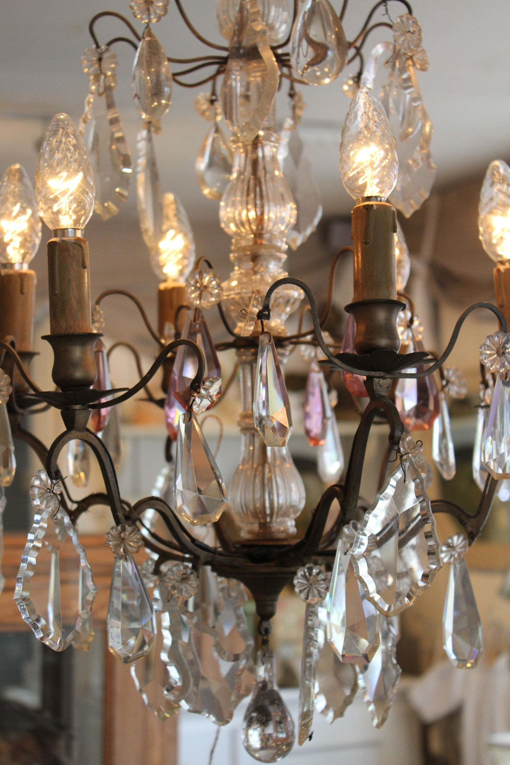 Vintage French Soul French Chandelier French Chandelier