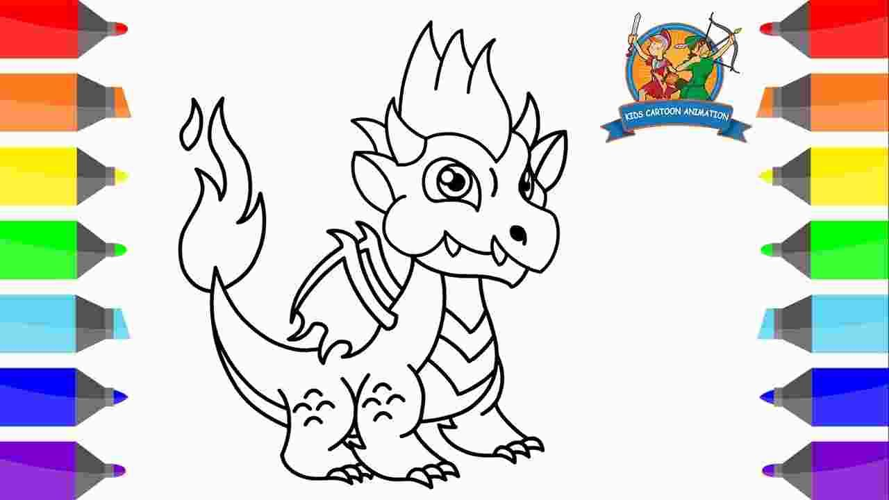 - Dragon City Coloring Pages