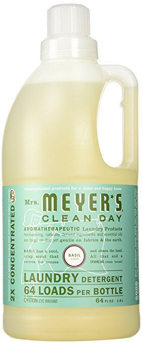 Amazon Com Mrs Meyer S Clean Day Laundry Detergent 64 Loads