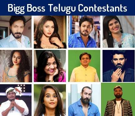 By Photo Congress || Who Are Big Boss 2 Contestants Telugu