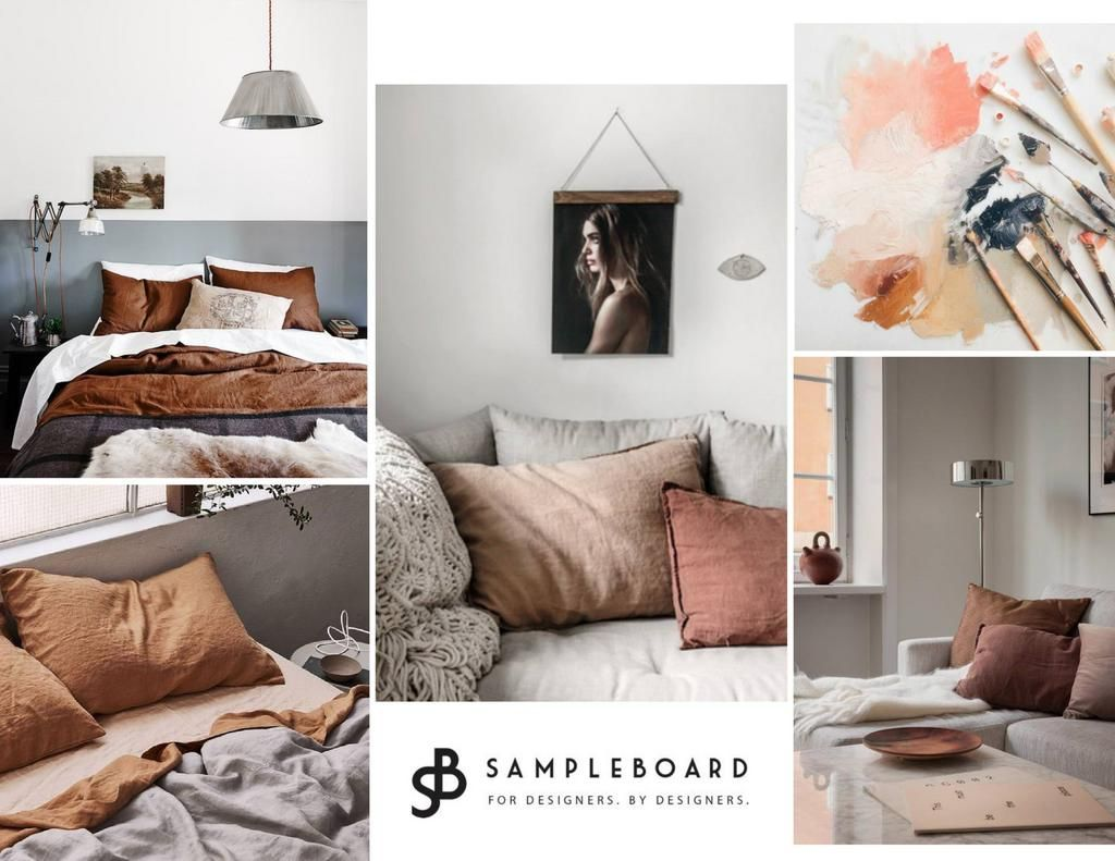 Rust Color Trend And How To Use It In Interiors Sampleboard Color Palette Living Room Grey Colour Scheme Bedroom Living Room Color Schemes #rust #color #living #room #sets