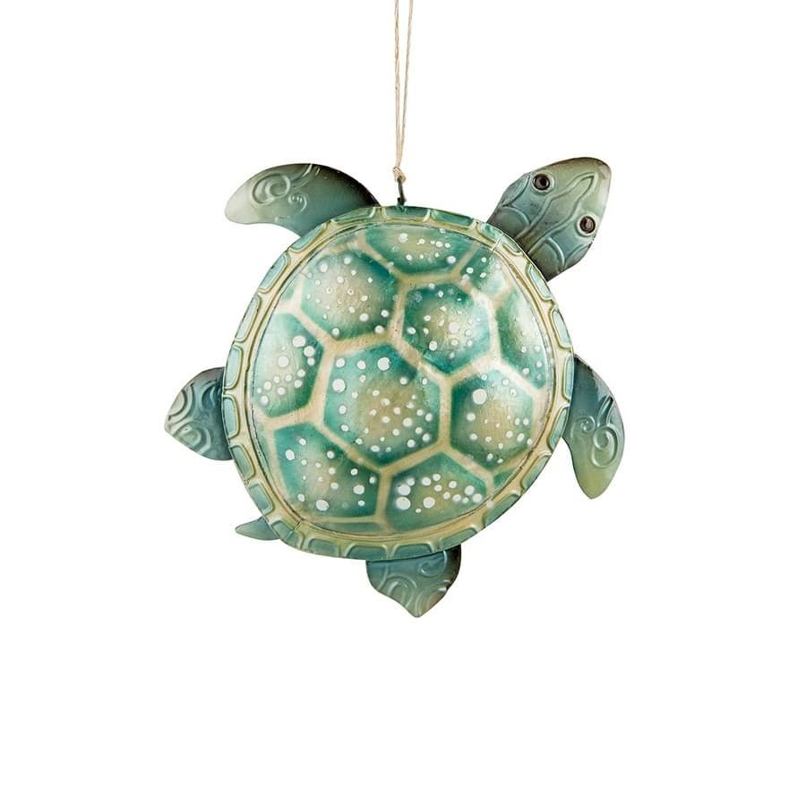 Seafoam Sea Turtle Christmas Ornament (With images ...