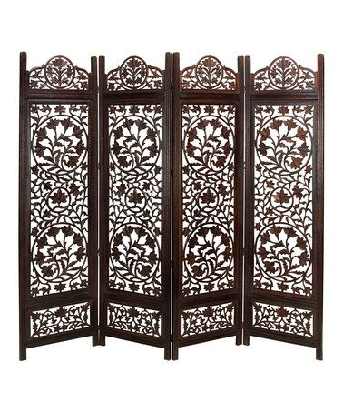 Take a look at this Wooden Four Panel Screen by UMA Enterprises on