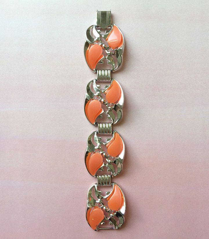Orange Dream Moonglow Bracelet from Candy Shop Vintage