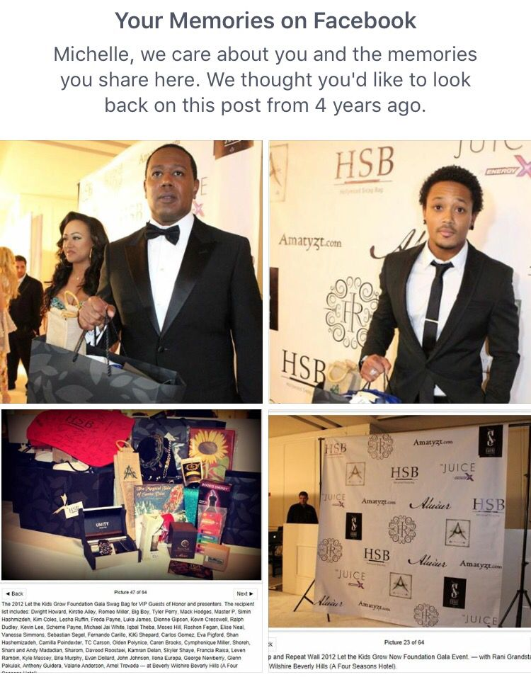 4 years ago, ArXotica's Quyung-lii Anti-Aging Skin Serum debuted at a star-studded event at the Beverly Wilshire Hotel. Celebrity-held SWAG give-back allows auctions to raise further funds. Our distinct bamboo handle jute gift bag and logo were visible. Master P and his son actor/rapper Romeo were seen with; such a kick seeing our logo on a red-carpet Stop-and-Repeat wall.