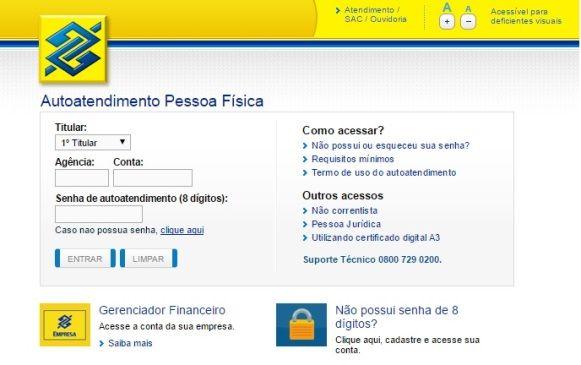 Banco Do Brasil Online Consulta Saldo Excluir Internet