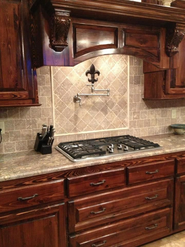 Madden Home Design   The Abbeville   French Country Home Design   Kitchen