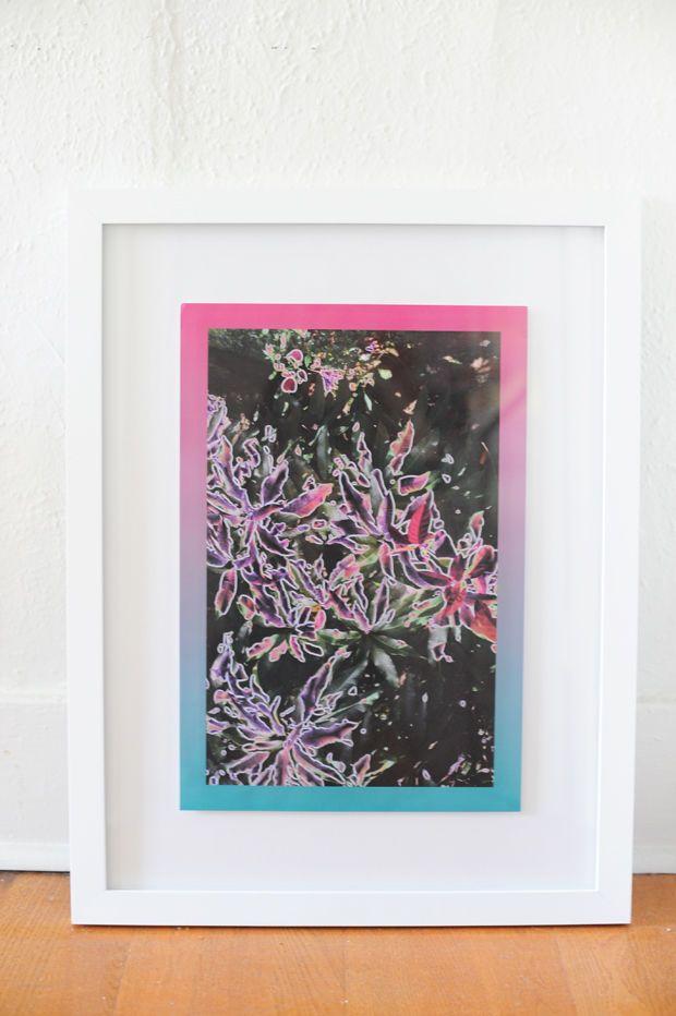 31 cool and crafty diy picture frames - Diy Floating Frame