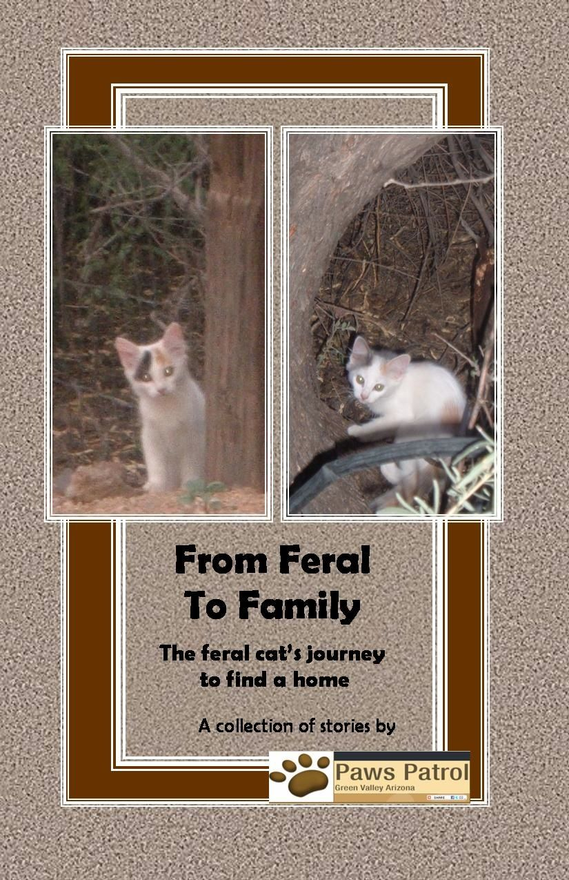 Our first book, sharing heartwarming stories of our feral