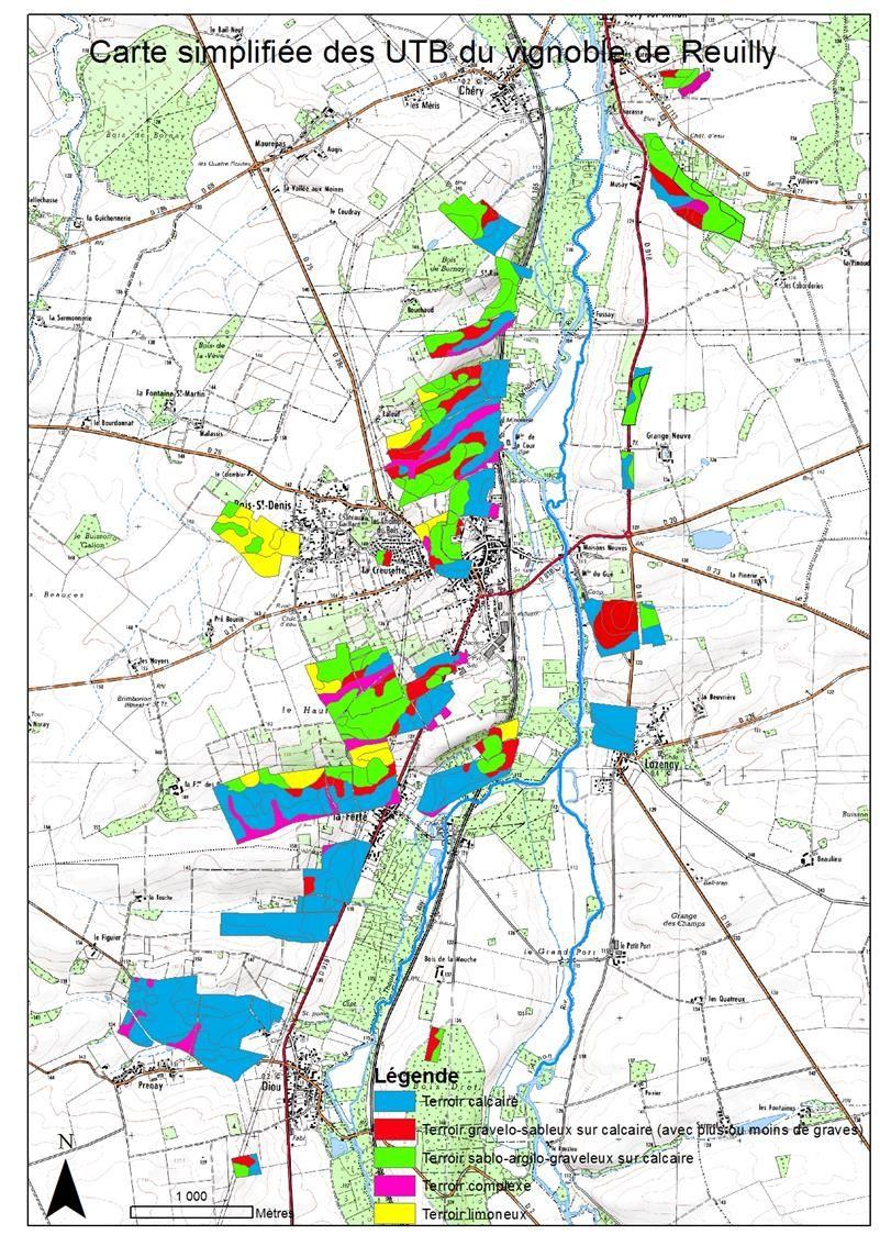 Carte simplifiée UTB Reuilly   L'Association de Développement des