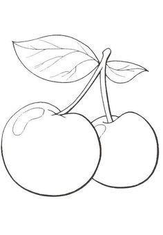 Cartoon Pear Coloring Page 1 Crafts And Worksheets For