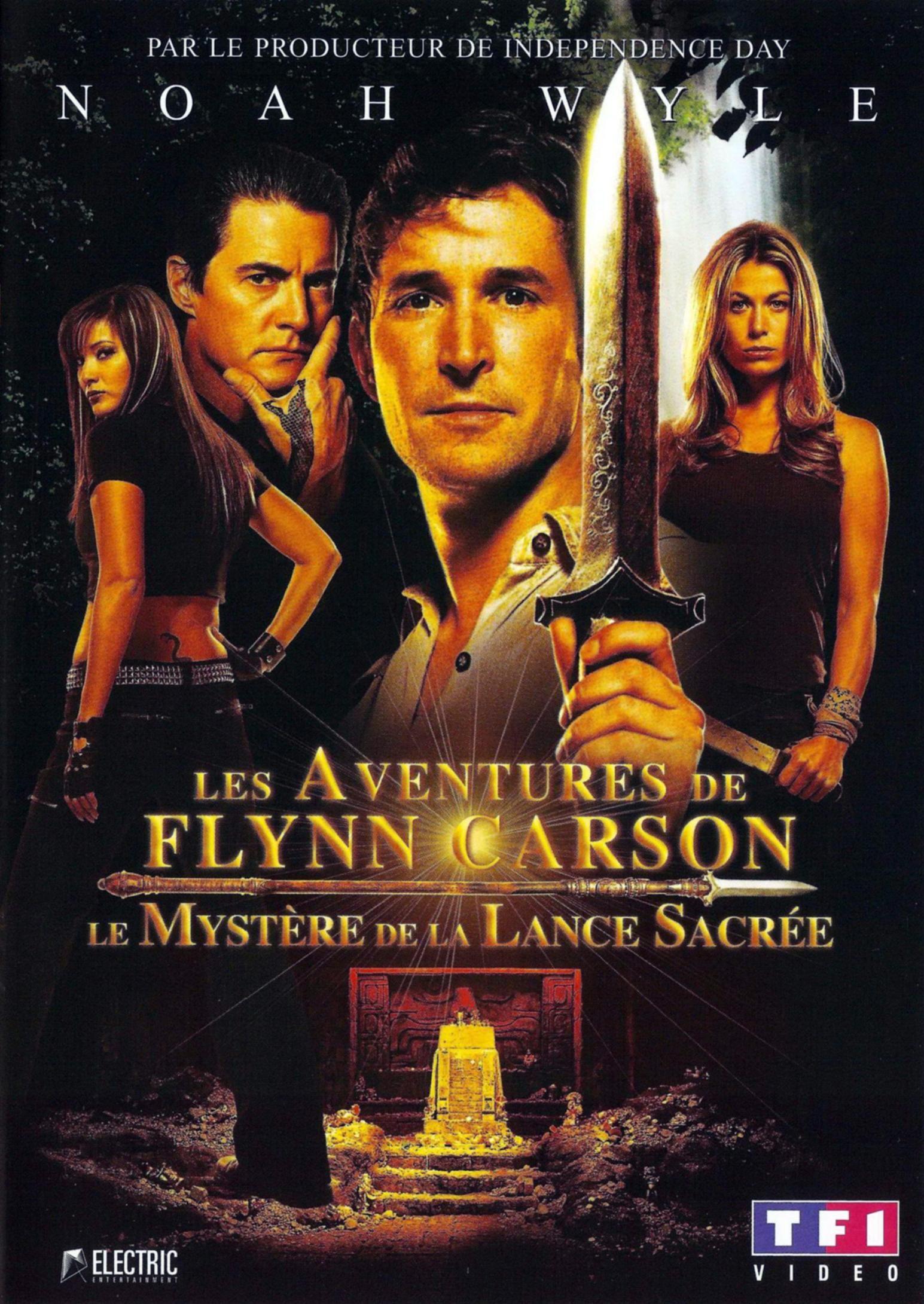 Les Aventures de Flynn Carson 1 Le Mystère de la lance