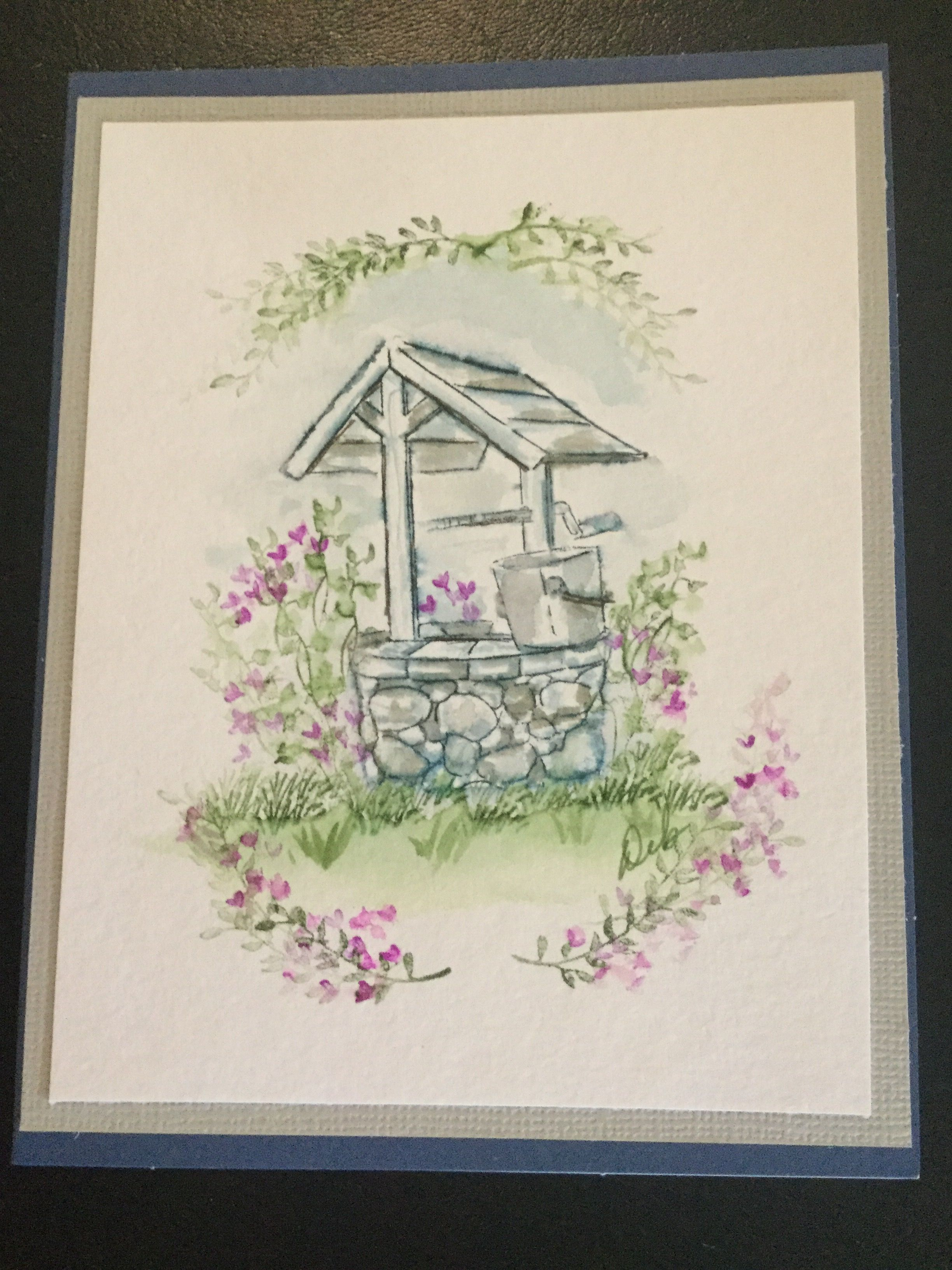 Rachel S Wishing Well Art Impressions Stamps Art Impressions