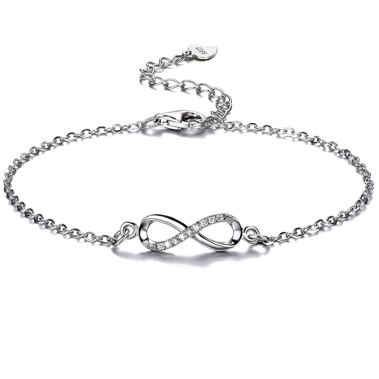 F.ZENI Women Bracelet Pearl 925 Sterling Silver Women Bead Pearl Bracelets Fashion Collection Jewellery Bracelets for Women S9DDSiN9H