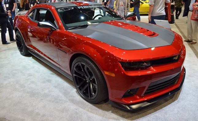 CUSTOM RED CAMARO