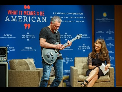 Interview With Eddie Van Halen Is Rock N Roll All About Reinvention Youtube In 2020 Eddie Van Halen Van Halen Famous Musicians