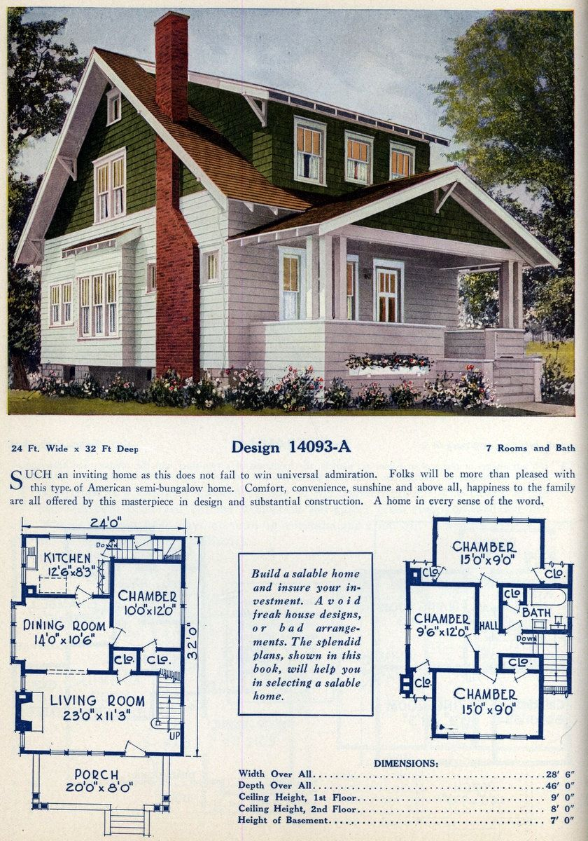 American Home Designs Vintage House Plans Click Americana Craftsman Floor Plans Home Design Floor Plans Bungalow Floor Plans