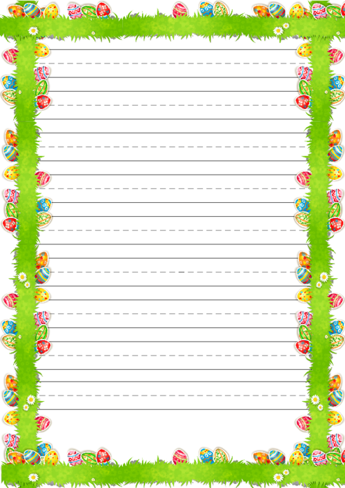 Decisive image inside easter stationery printable