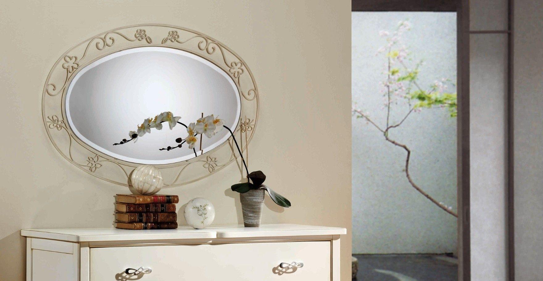 Espejo de Forja Imperia #Ambar #Muebles #Deco #Interiorismo #Espejos | http://www.ambar-muebles.com/espejo-de-forja-imperia.html