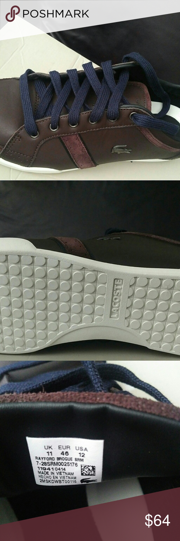 1c83589abe0d LaCoste Men s shoes NWT