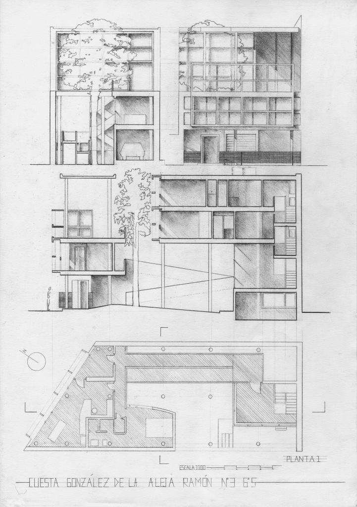 Casa curutchet le corbusier 1954 curutchet house by - Casas de le corbusier ...