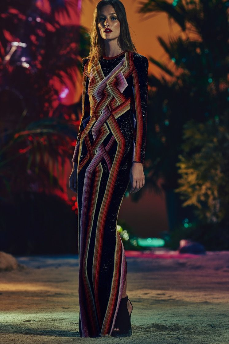 5542537f BALMAIN RESORT 2017 WOMENSWEAR COLLECTION - LOOK 15 | BALMAIN RESORT ...