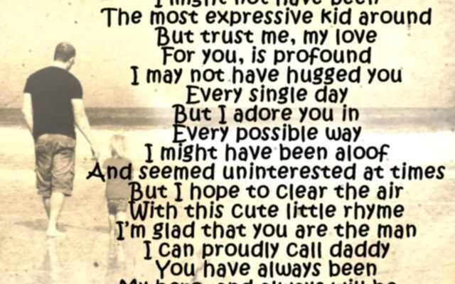 Happy Birthday Messages Poems To Dad From Son And Daughter