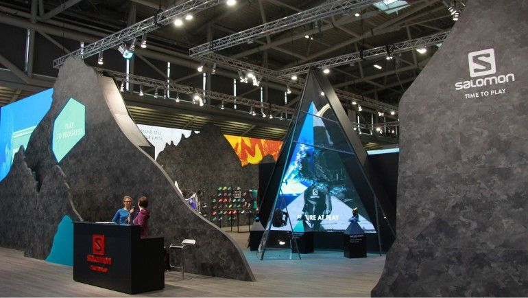 Exhibition Stand Design Competition : Ispo munich best booth contest winner g