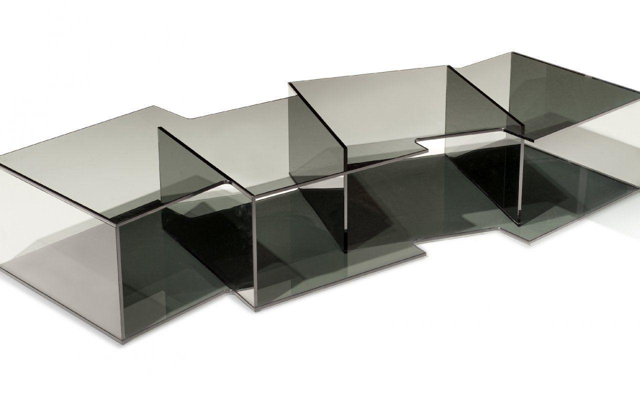table basse offset - collection roche bobois 2011 sacha lakic