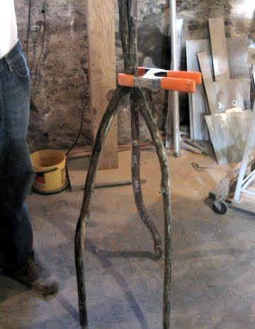 Diy Lamp Tripod Floor Lamp With Drift Wood Branches Diy