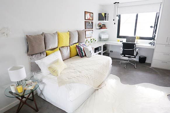 layout my room the block sky high room reveal bec georges guest bedroom love