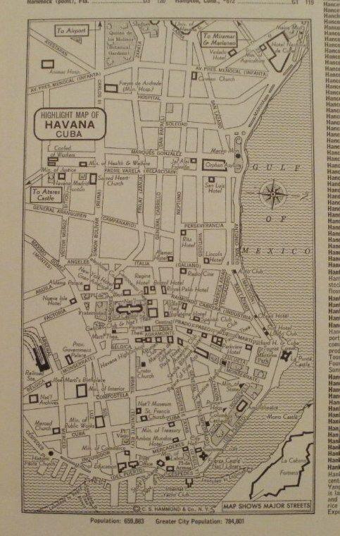 Havana MapHavana Cuba City MapHartford Connecticut MapBusiness