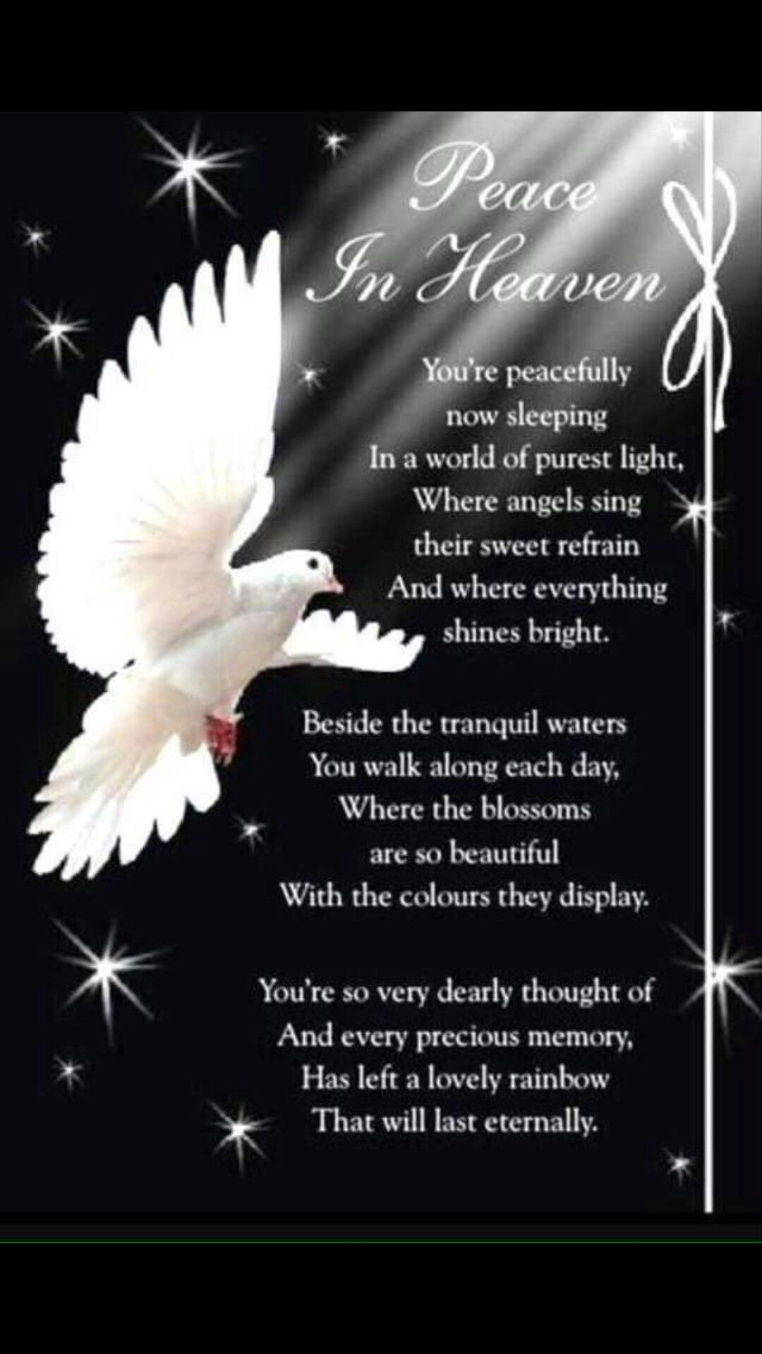 Pin by Tracey Ortiz on Mom Mom in heaven, Heaven quotes