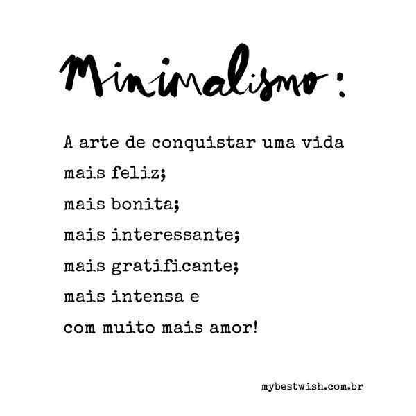 Minimalism Minimalismo Estilo De Vida Minimalista Minimalista