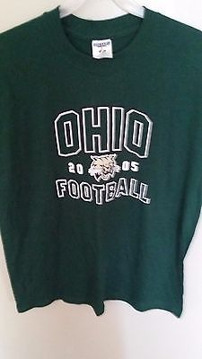 OHIO BOBCAT FOOTBALL T SHIRT SIZE XL ADULT