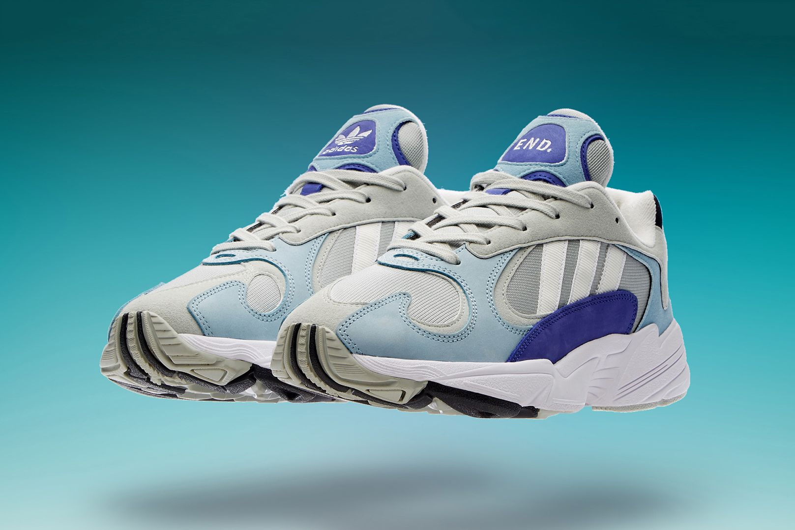 Clothing adidas Yung-1 Atmosphere Release Info Grey Blue Purple Chunky  Runner 1990s Falcon Dorf Sneaker Trainer Shoe Details Cop Buy Purchase  Register ... ce302c96b80aa