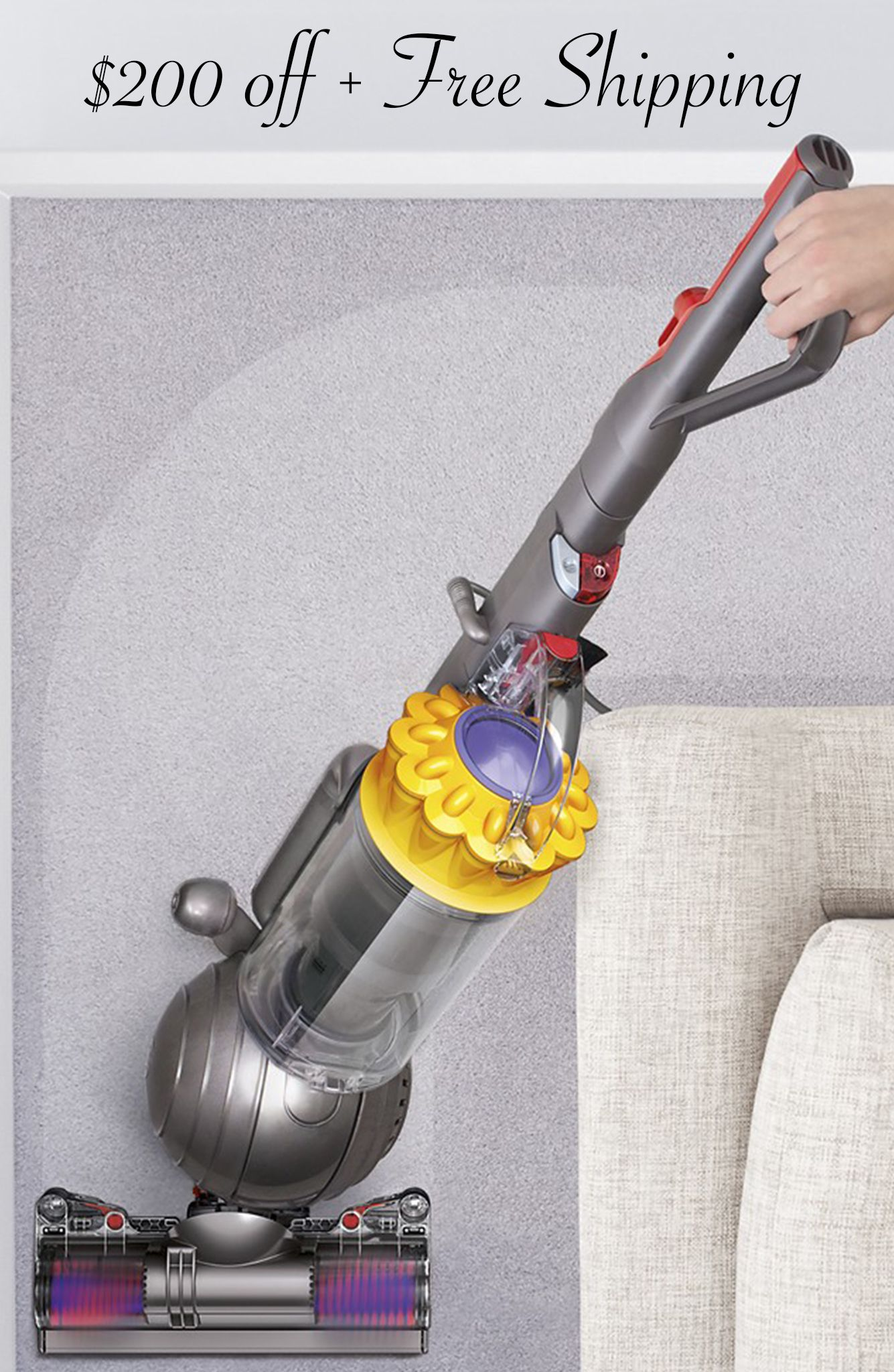 cleaner small floors vacuum dyson smallball multi floor review ball