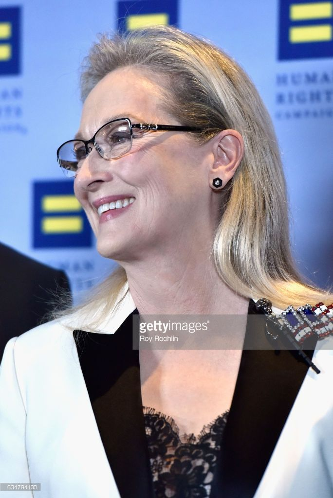 Honoree Meryl Streep attends the 2017 Human Rights Campaign Greater New York Gala at Waldorf Astoria Hotel on February 11, 2017 in New York City.