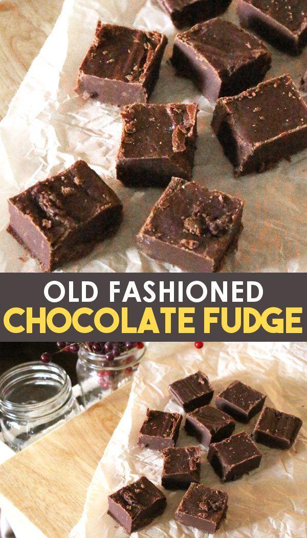 Homemade Chocolate Fudge - Classic Fantasy Fudge
