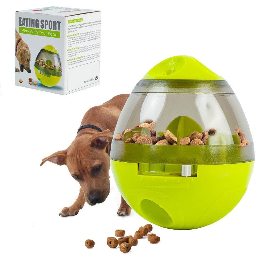 Interactive Dog Toy Pets Treat Dispensing Ball For Dog Cat