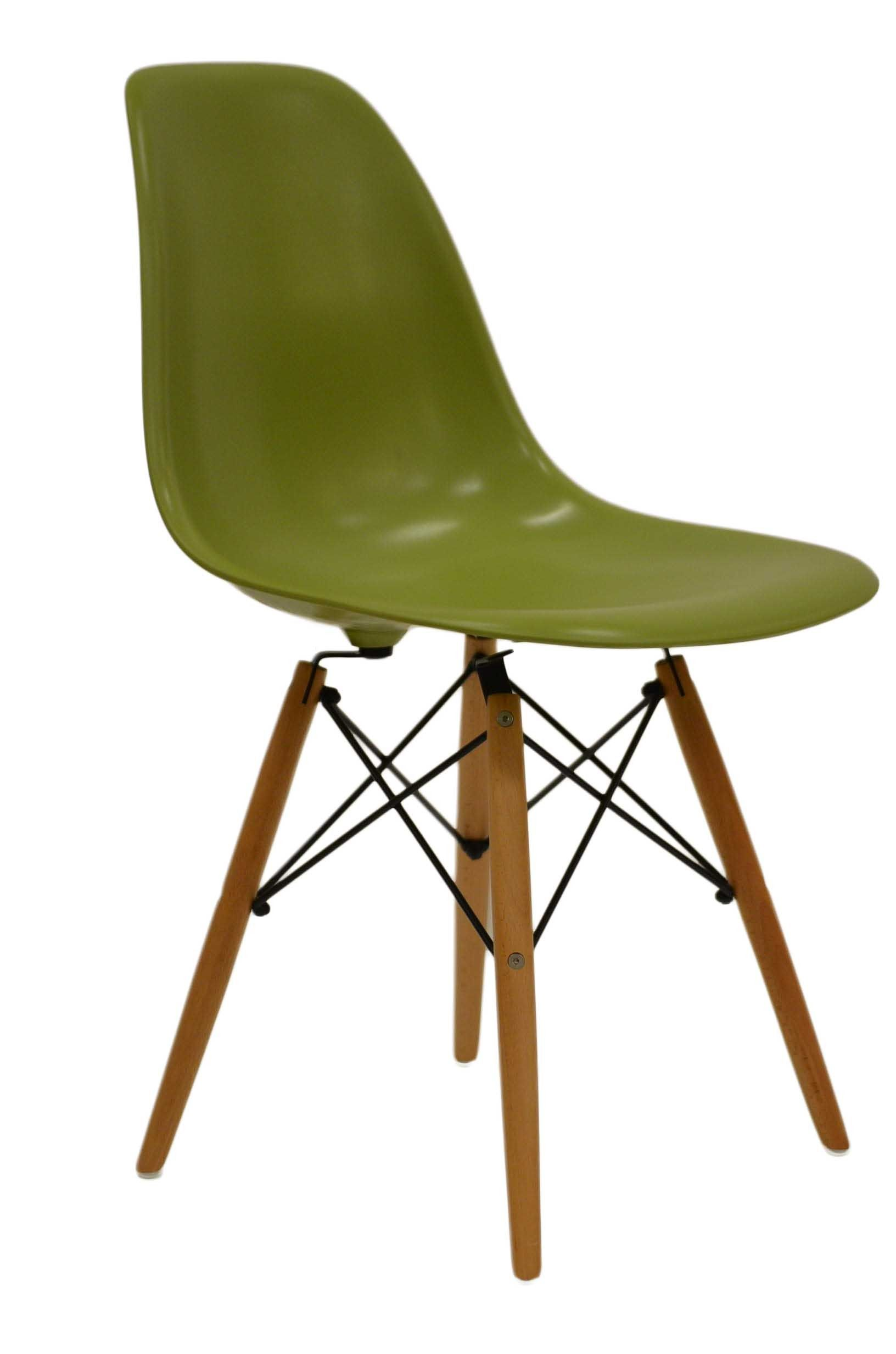 Buy Charles Eames Green DSW Side Dining Chairs Lakeland Furniture