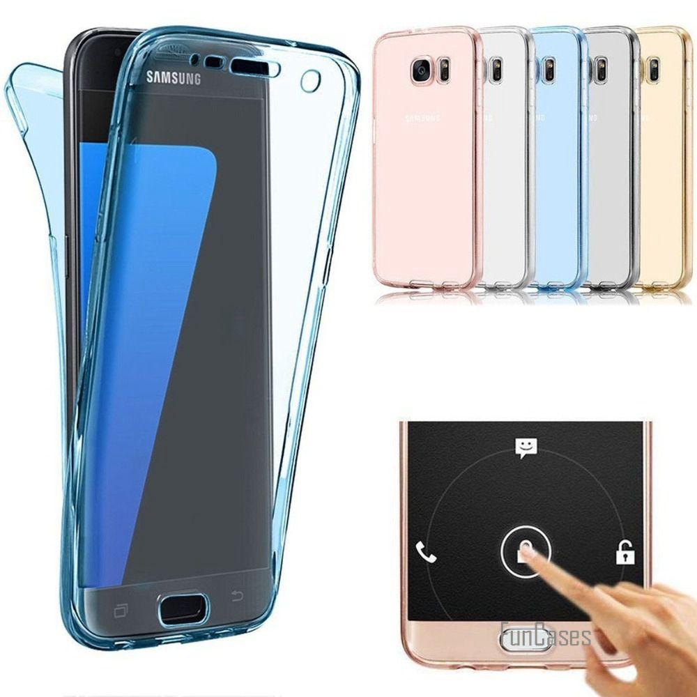 360 Silicon Soft Case For Samsung Galaxy A3 A5 A7 2017 ...