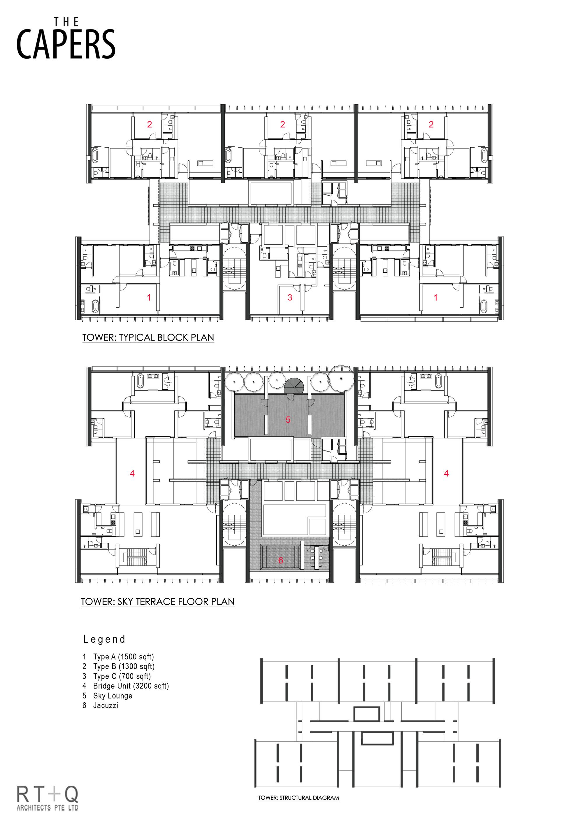 Gallery Of The Capers Rt Q Architects 15 Floor Plans Architect Architectural Floor Plans