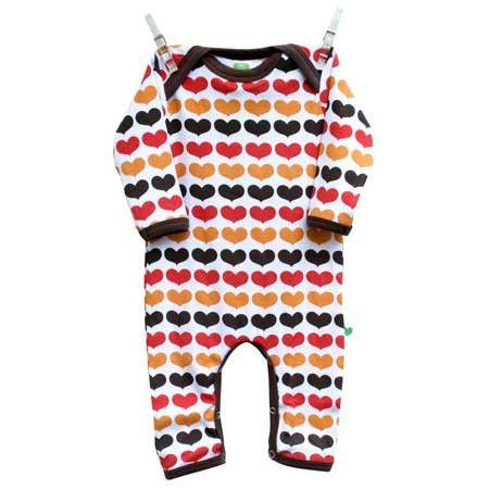 Autumn Hearts Jumpsuit Ittikid Scandinavian Children S Clothes Scandinavian Baby And Kids Clothes Babe Clothes Danish Baby Clothes Baby Clothes Online
