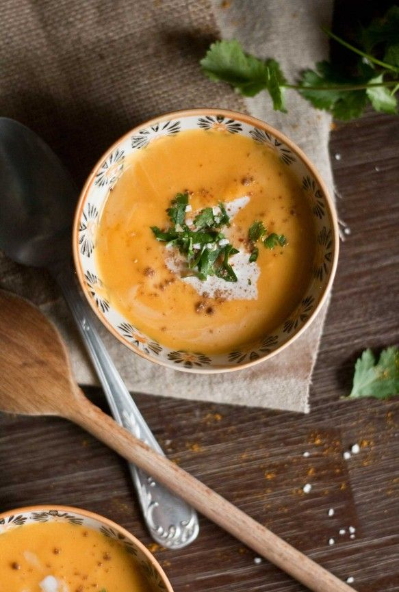 Velout butternut coco recettes test es am liorer pinterest soupes soupe butternut et - Cuisine legere thermomix ...