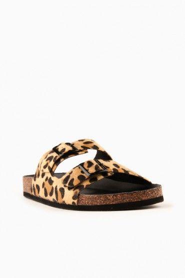 e40a5d2cbd0c Not a Birkenstock Leopard Sandal