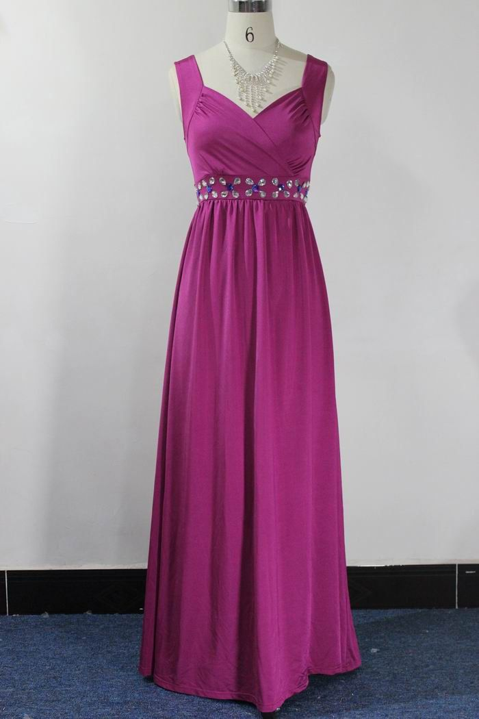Formal Cocktail Beaded Prom Party Evening Maxi Dress by LYDRESS ...